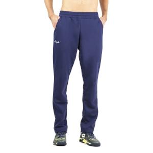Pantaloni e Tights Tennis Uomo Australian Classic Logo Pantaloni  Blu Cosmo LSUPA0008842