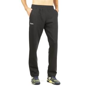 Pantaloni e Tights Tennis Uomo Australian Classic Logo Pantaloni  Nero LSUPA0008003