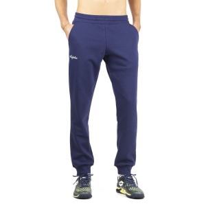 Men's Tennis Pants and Tights Australian Fleece Pants  Blu Cosmo LSUPA0009842