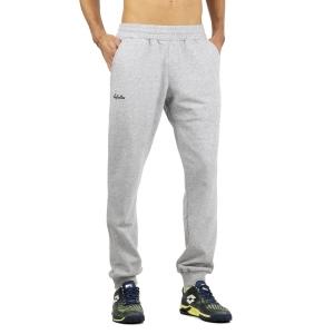 Men's Tennis Pants and Tights Australian Fleece Pants  Grigio Melange LSUPA0009101