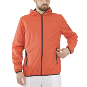 Men's Tennis Jackets Australian Kway Jacket  Lava Red TMXGC0002149
