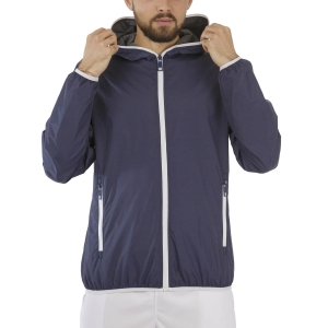 Men's Tennis Jackets Australian Kway Jacket  Navy Blue TMXGC0002200