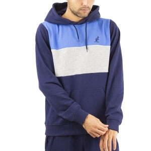 Men's Tennis Shirts and Hoodies Australian Logo Hoodie  Blu Cosmo LSUFE0005842
