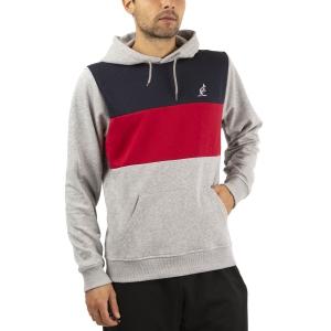 Men's Tennis Shirts and Hoodies Australian Logo Hoodie  Grigio Melange LSUFE0005101