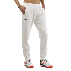 Pantaloni e Tights Tennis Uomo Australian Logo Pantaloni  Bianco SWUPA0001002