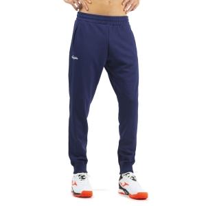 Pantaloni e Tights Tennis Uomo Australian Logo Pantaloni  Blu Cosmo SWUPA0001842