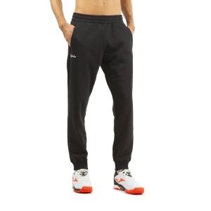 Pantaloni e Tights Tennis Uomo Australian Logo Pantaloni  Nero SWUPA0001003