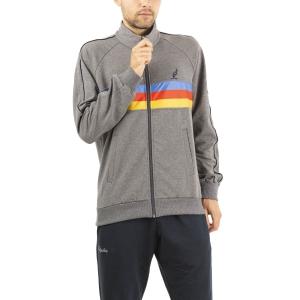 Men's Tennis Suit Australian Logo Suit  Grigio Scuro Melange LSUTU0015390M