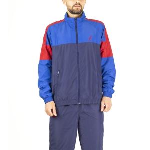 Men's Tennis Suit Australian Smash Bodysuit  Blue Cosmo LSUTU0007842