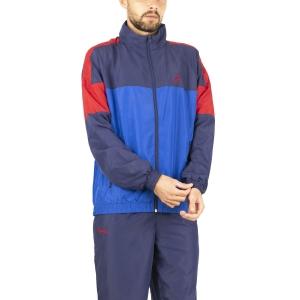 Men's Tennis Suit Australian Smash Bodysuit  Royal Blue LSUTU0007B54