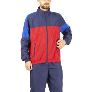 Men's Tennis Suit Australian Smash Bodysuit  Tango Red LSUTU0007930