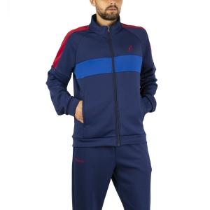 Men's Tennis Suit Australian Volee Tracksuit  Blu Cosmo LSUTU0001842
