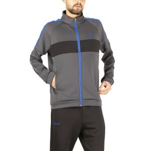Men's Tennis Suit Australian Volee Tracksuit  Grigio Titanio LSUTU0001091