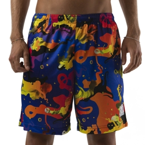 Pantalones Cortos Tenis Hombre Australian vs Octopus Ace 7in Shorts  Black OCUSH0001OCT3