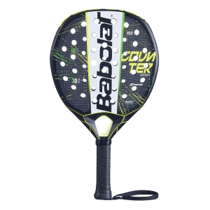 Padel Racket Babolat Counter Veron Padel  Black/White/Yellow 150090357
