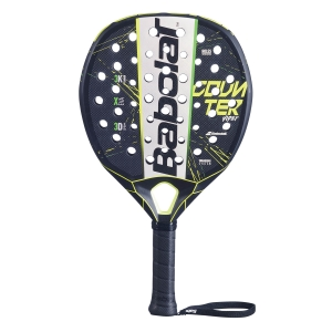 Padel Racket Babolat Counter Viper Padel  Black/Grey/Yellow 150087355