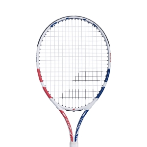 Babolat Junior Tennis Racket Babolat Drive Junior 24 Girl  White/Pink/Blue 140423301