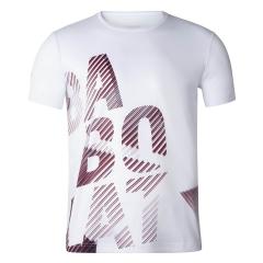 Babolat Exercise Big T-Shirt Boys - White