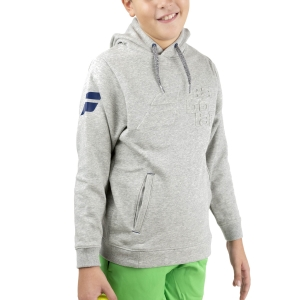 Tracksuit and Hoodie Girl Babolat Exercise Hood Hoodie Junior  High Rise Heather 4JTA0413002