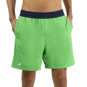 Men's Tennis Shorts Babolat Play Club 6in Shorts  Poison Green 3MTA0618000
