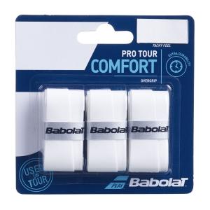 Overgrip Babolat Pro Tour x 3 Overgrip  White 653037101