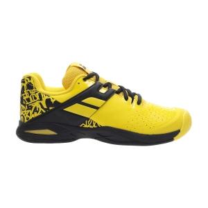 Junior Tennis Shoes Babolat Propulse All Court Junior  Lemon Chrome 33F204787010