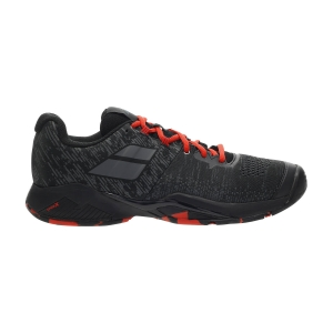 Men`s Tennis Shoes Babolat Propulse Blast All Court  Black/Tomato Red 30F204422019