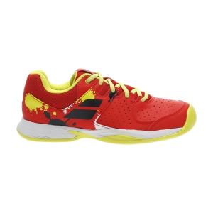 Junior Tennis Shoes Babolat Pulsion All Court Junior  Tomato Red 33F204825027