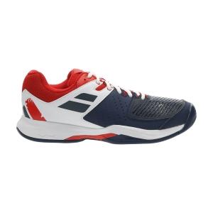 Men`s Tennis Shoes Babolat Pulsion All Court  Estate Blue/White 30F203364001