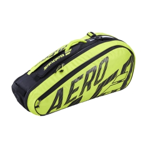 Tennis Bag Babolat Pure Aero x 6 Bag  Black/Yellow 751212142