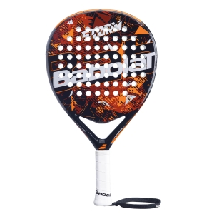 Padel Racket Babolat Storm Padel  Black/Orange 150097162