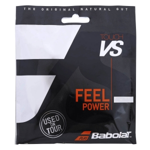 Natural Gut String Babolat Touch VS 1.30 Set 12 m  Black 201031105130