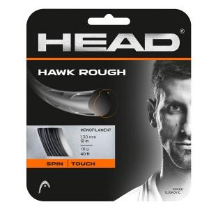 Monofilament String Head Hawk Rough 1.30 12 m Set   Anthracite 281126 16AN