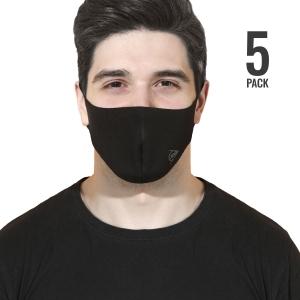 Accessori Vari Dunlop Fashion x 5 Mascherina  Black 10317447