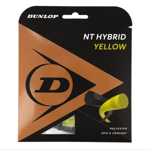 Hybrid String Dunlop NT Hybrid 1.35/1.30 Set 12.2 mt  Yellow/Black 624764