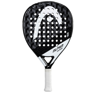 Padel Racket Head Alpha Sanyo Padel Junior  Black/White 228311