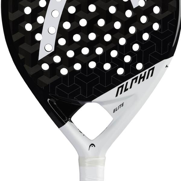 Head Graphene 360+ Alpha Elite Padel - Black/White