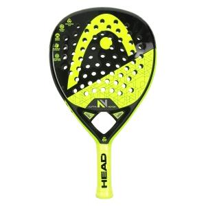 Padel Racket Head Graphene 360 Alpha Motion V Padel  Black/Volt 228199