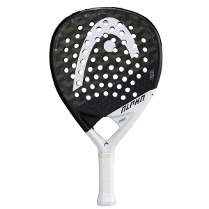 Padel Racket Head Graphene 360+ Alpha Pro Padel  Black/White 228131