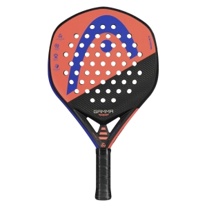 Padel Racket Head Graphene 360 Gamma Motion Padel  Purple/Orange/Black 228170
