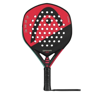 Padel Racket Head Graphene 360 Gamma Pro Padel  Black/Green/Red 228160