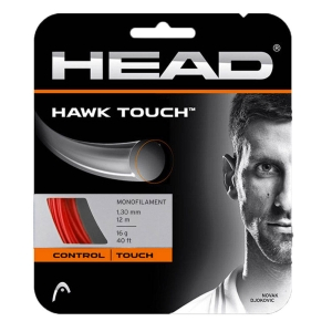 Monofilament String Head Hawk Touch 1.30 12 m Set  Red 281204 16RD