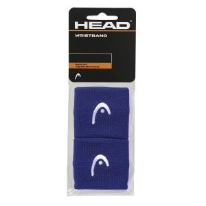 Muñequeras Tenis Head Logo 2.5in Munequeras  Blue 285050 BL