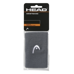 Muñequeras Tenis Head Logo 5in Munequeras  Anthracite 285070 AN