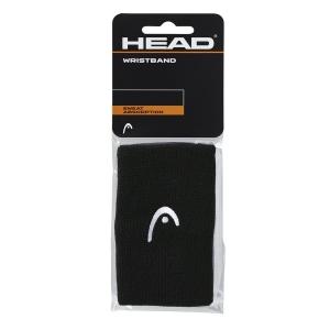Tennis Wristbands Head Logo 5in Wristbands  Black 285070 BK