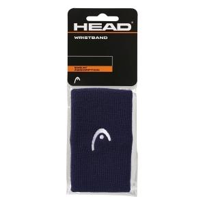Tennis Wristbands Head Logo 5in Wristbands  Navy 285070 NV
