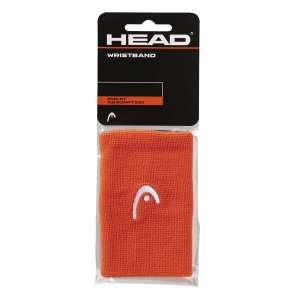 Muñequeras Tenis Head Logo 5in Munequeras  Orange 285070 OR