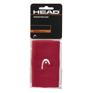 Muñequeras Tenis Head Logo 5in Munequeras  Red 285070 RD