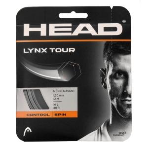 Monofilament String Head Lynx Tour 1.30 Set 12 m  Grey 281790 16GR