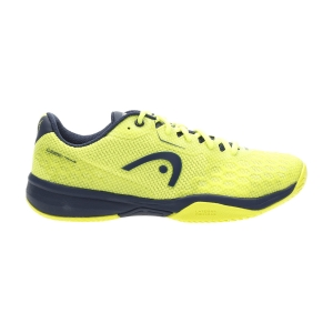 Junior Tennis Shoes Head Revolt Pro 3.0 Boy  Neon Yellow/Dark Blue 275110 NYDB